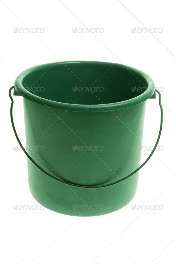 Plastic Bucket - Stock Photo - Images