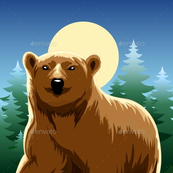 Brown Bear - Nature Conceptual