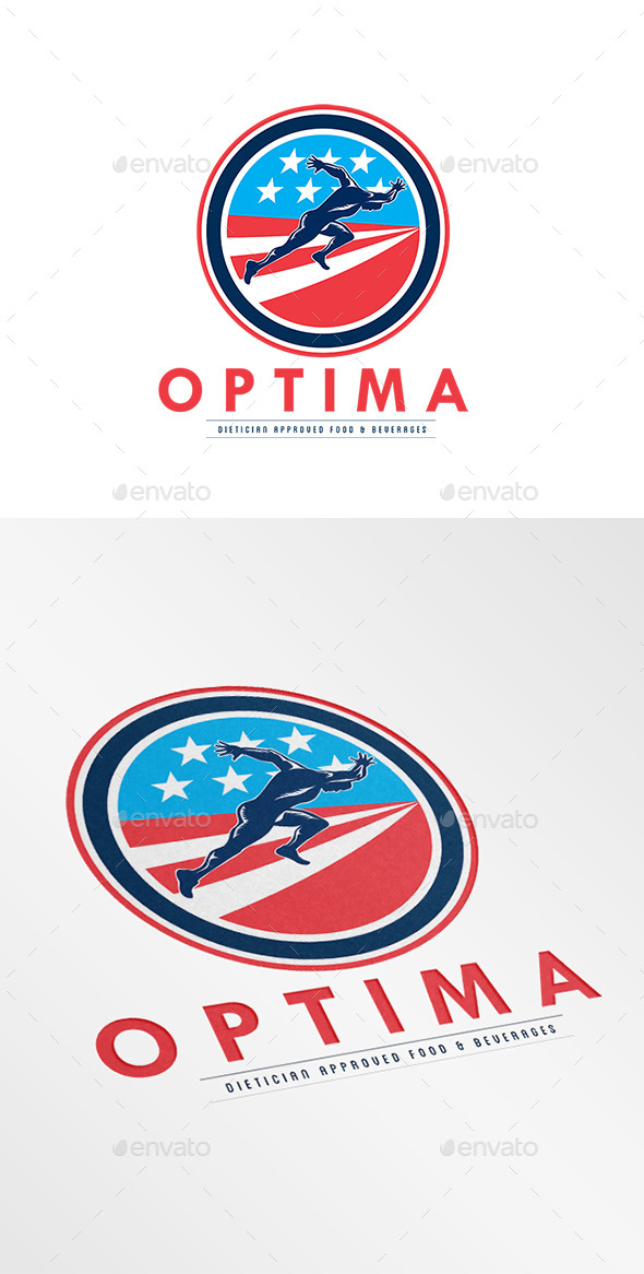 Optima Food and Beverages Logo - Humans Logo Templates