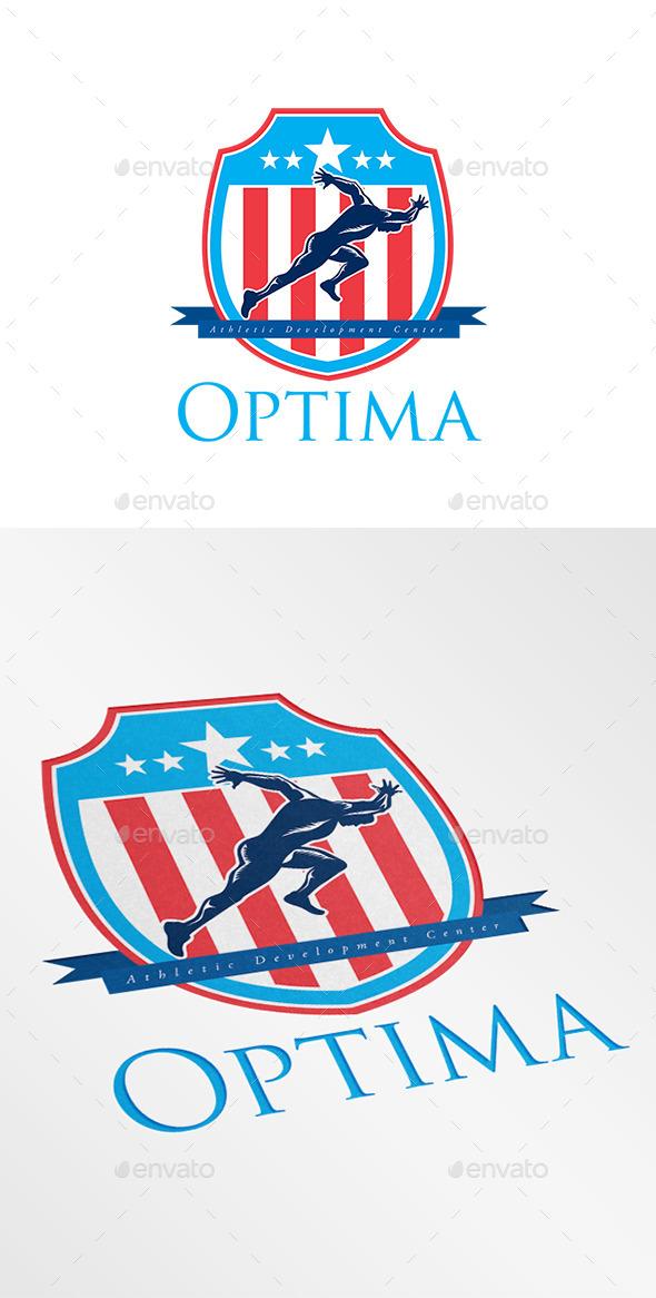Optima Athletic Development Center Logo - Humans Logo Templates