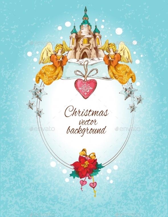 Christmas Background Colored - Christmas Seasons/Holidays