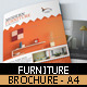 Furniture Store Brochure Template - GraphicRiver Item for Sale