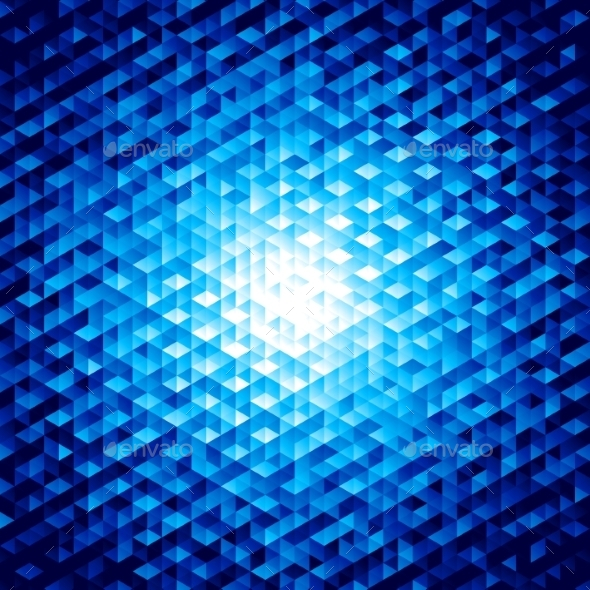 Abstract Background with Hexagons - Technology Conceptual
