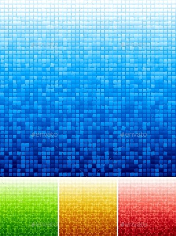 Mosaic Background - Backgrounds Decorative