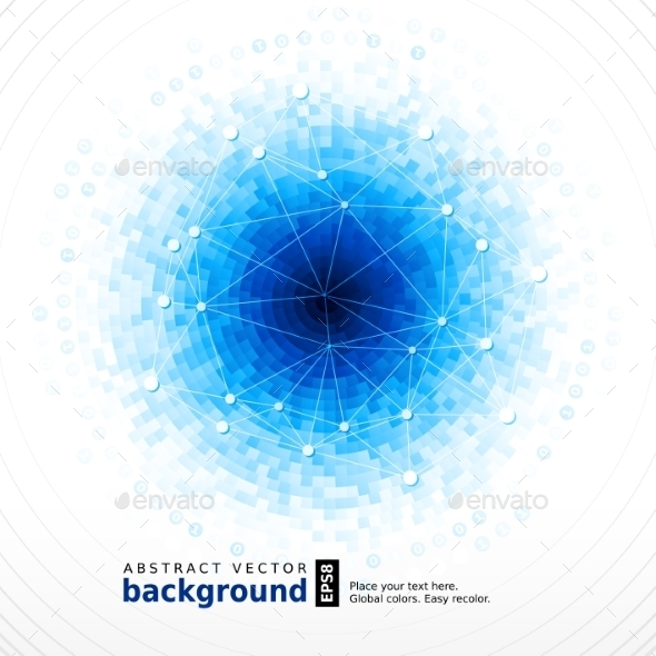 Abstract Vector Background - Technology Conceptual