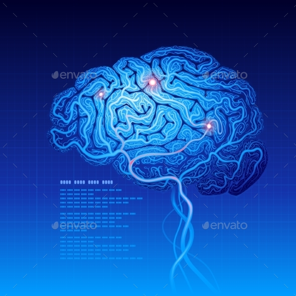 Brain - Health/Medicine Conceptual