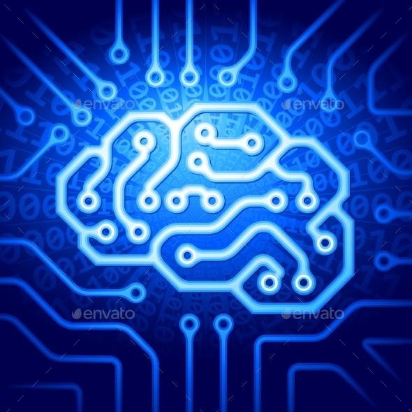 Cyber Brain - Health/Medicine Conceptual