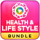 Health & Lifestyle Banners Bundle - 4 Sets