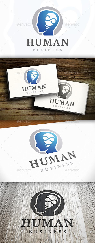 Human Idea Logo - Humans Logo Templates