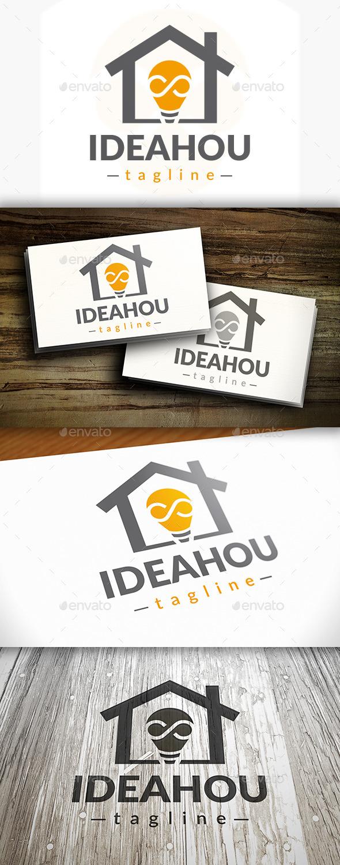 Idea House Logo - Buildings Logo Templates