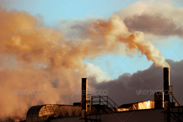 Air pollution - Stock Photo - Images