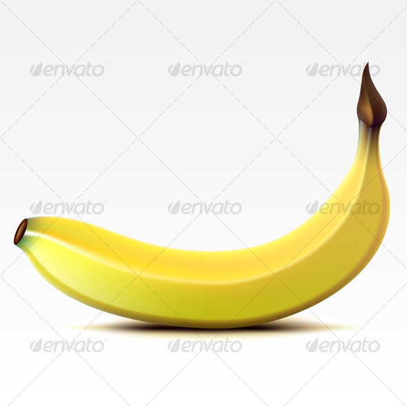 Banana - Food Objects