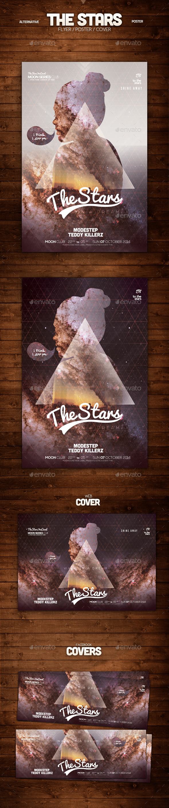 The Stars Alternative Poster - Clubs & Parties Events