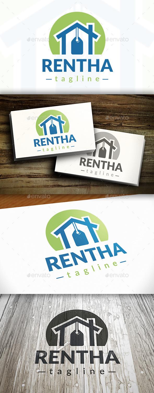 Rent House Logo - Buildings Logo Templates