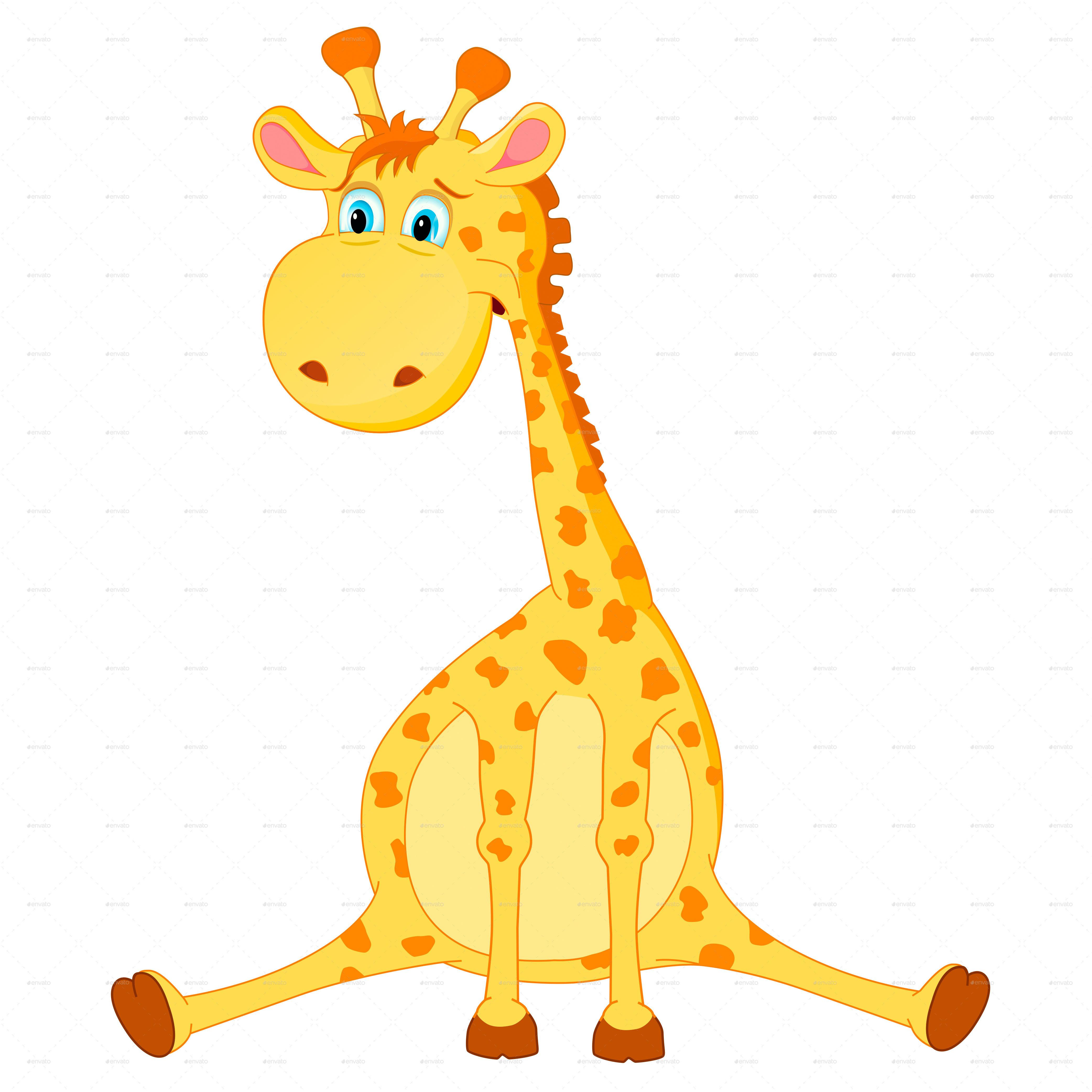 giraffe vector by yayasya graphicriver rh graphicriver net girafe vectoriel gratuit giraffe vector silhouette