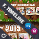 Christmas Timeline Template - GraphicRiver Item for Sale