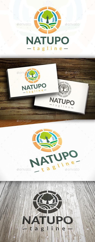 Tree Power Logo - Nature Logo Templates