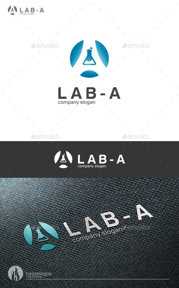 Lab A Logo - Letters Logo Templates