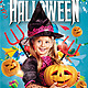Kids Halloween Party Flyer Template - GraphicRiver Item for Sale
