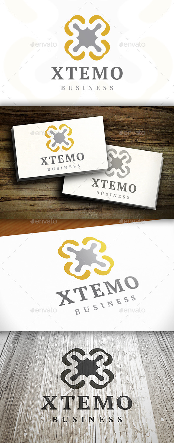 Abstract X Logo - Vector Abstract