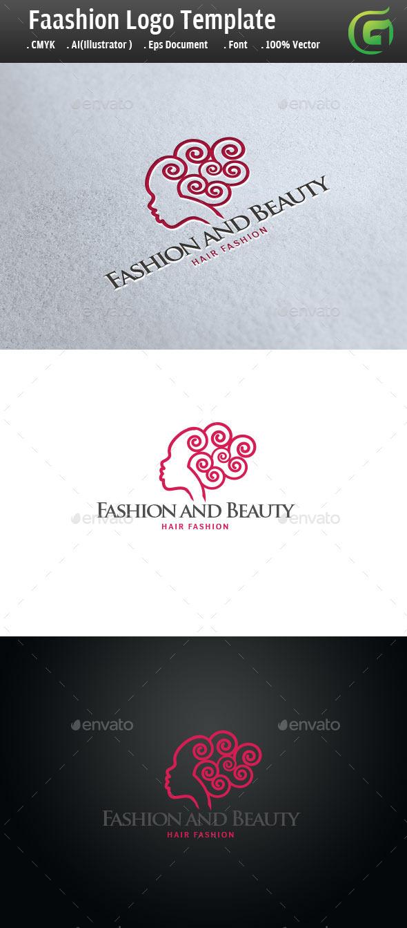 Fashion and Hair Salon - Humans Logo Templates