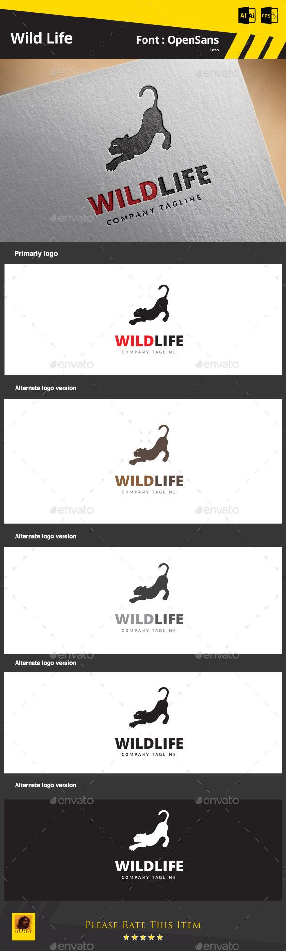 Wild Life - Animals Logo Templates