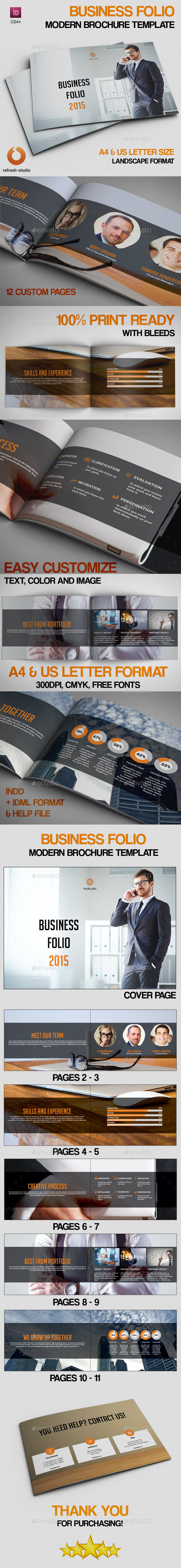Business Folio - Portfolio Brochures