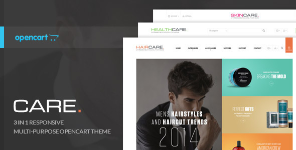 Lexus CareBeauty – Opencart Theme