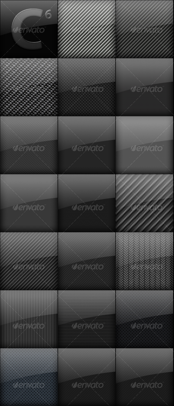 Carbon Fiber Backgrounds Mega Pack  - Backgrounds Graphics