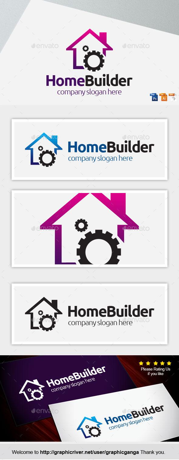 Homebuilder - Buildings Logo Templates