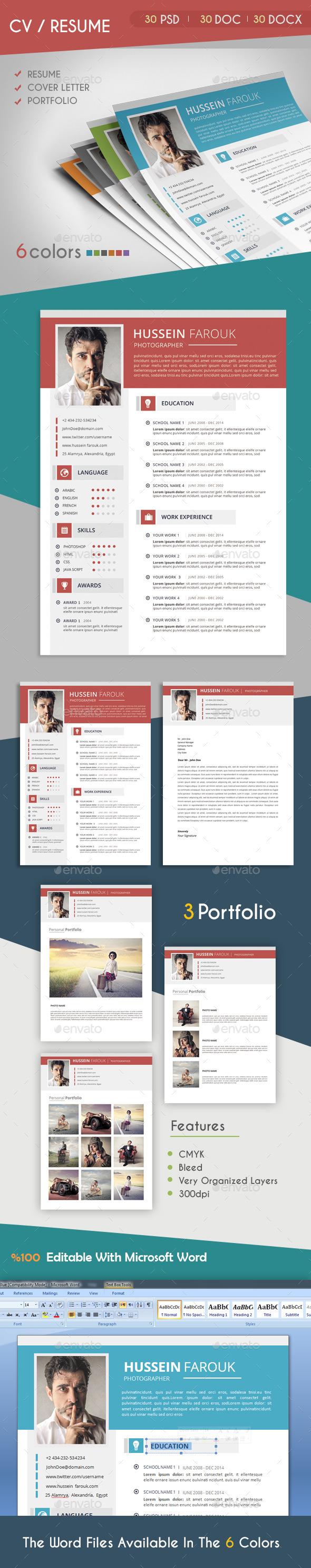 CV / Resume 2 - Resumes Stationery