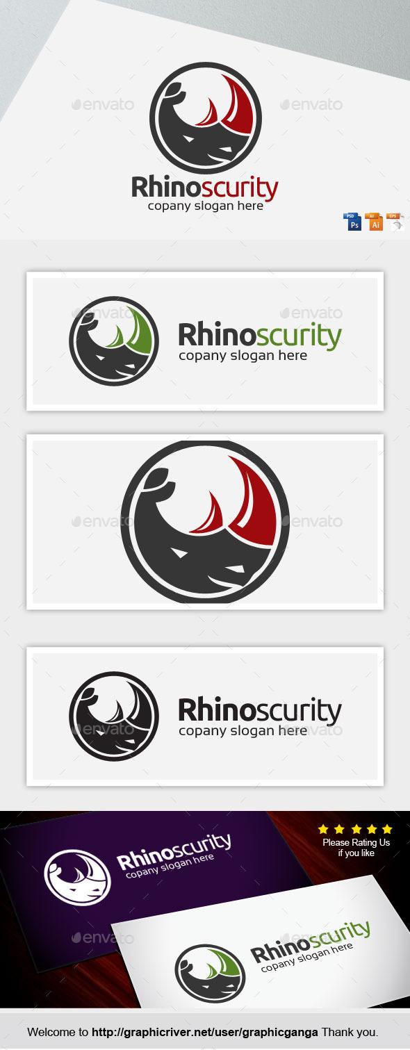 Rhino Security - Animals Logo Templates