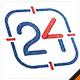 Twenty Four Business - Number 24 Logo