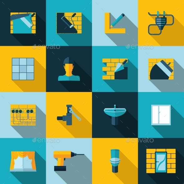 Home Repair Icons - Technology Icons