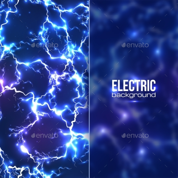 Electric Background - Backgrounds Decorative