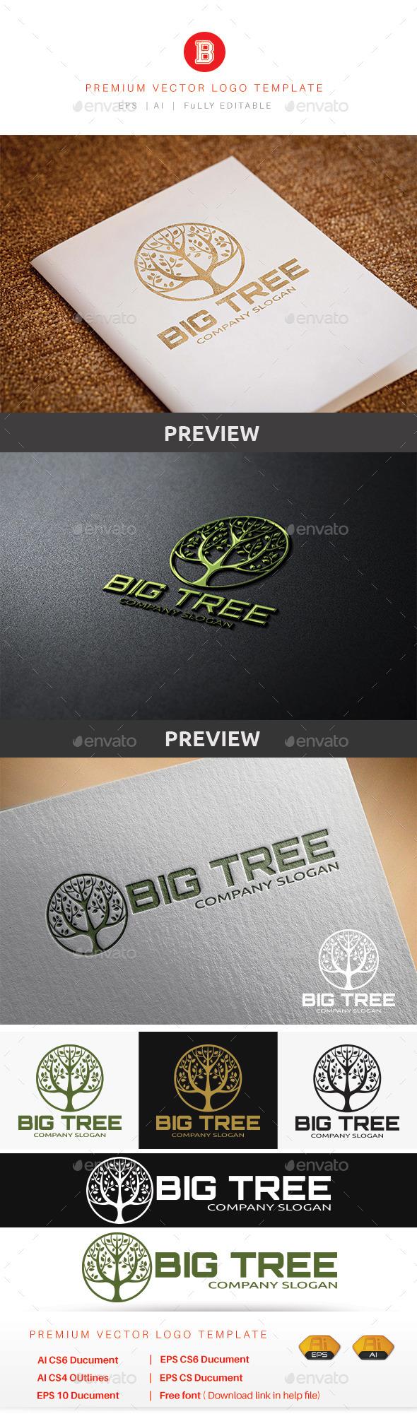 Big Tree V.2 - Nature Logo Templates