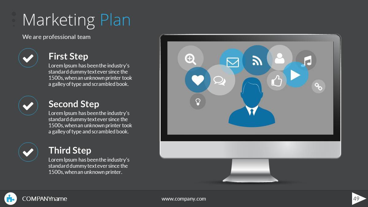 Ja Business Plan PowerPoint Presentation Template by SanaNik ...