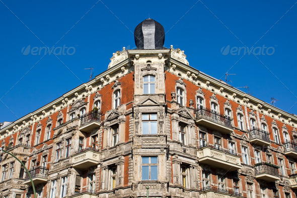 Old house in Berlin - Stock Photo - Images