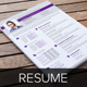 Resume & Cover Letter Template v2 - GraphicRiver Item for Sale
