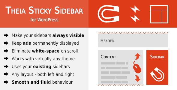 Theia Sticky Sidebar for WordPress - CodeCanyon Item for Sale