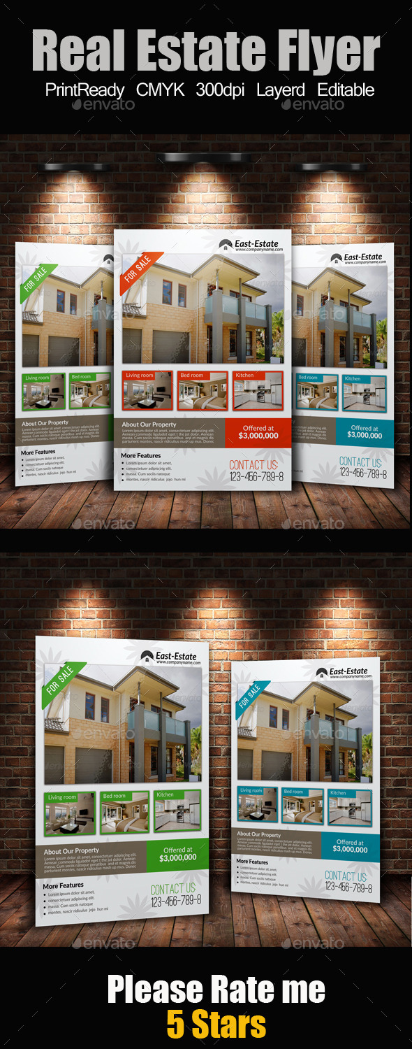 A4 Real Estate Flyer - Corporate Flyers