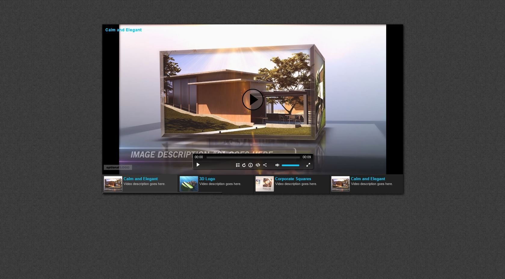 Responsive HTML5 Video Player & Gallery by _CreativeMedia_ ...
