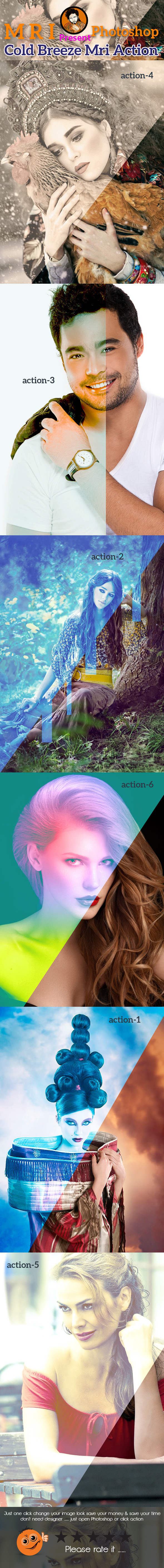 Cold Breeze Mri Action - Actions Photoshop