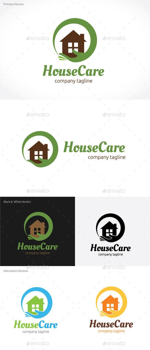 House Care Logo - Buildings Logo Templates
