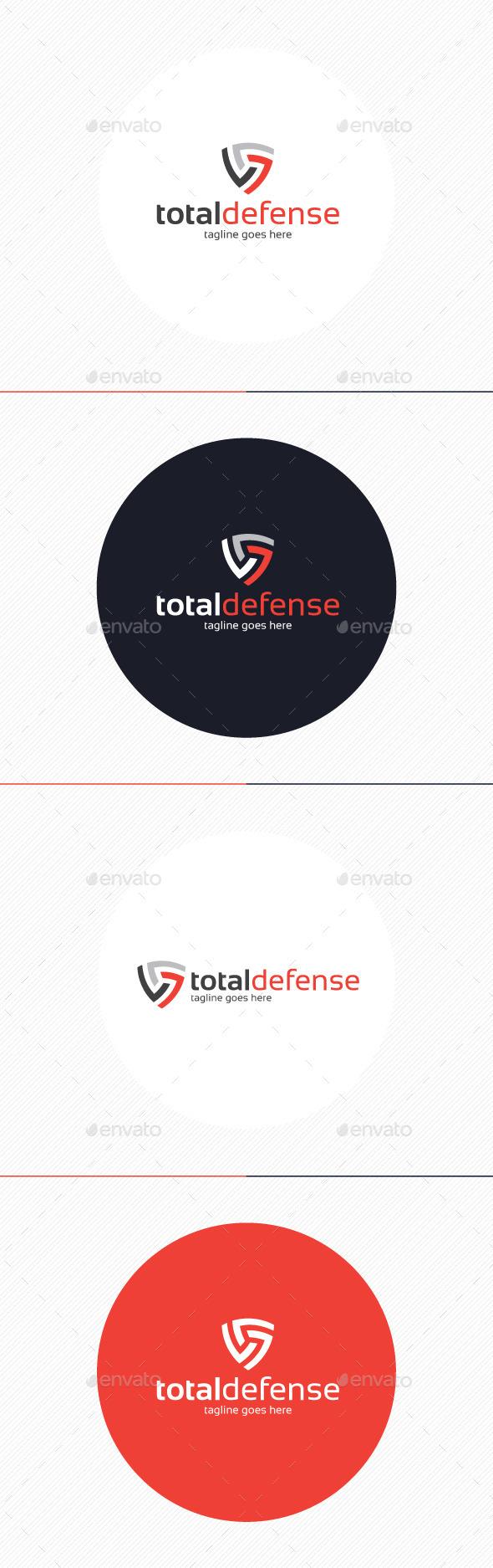 Total Defense Logo - Symbols Logo Templates