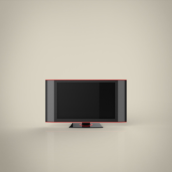 TV HD 3d model - 3DOcean Item for Sale