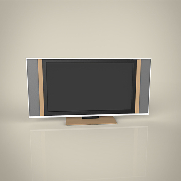 Big TV  modal - 3DOcean Item for Sale