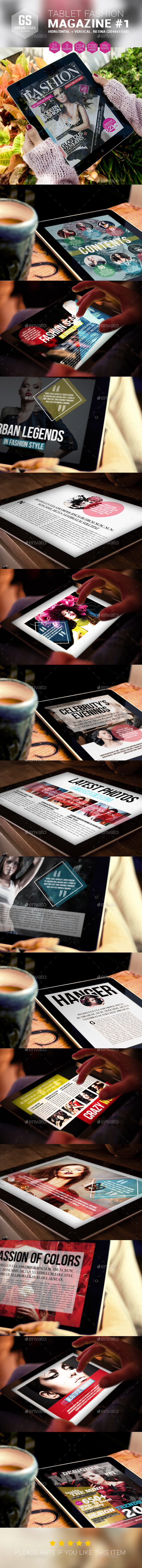 Tablet Fashion Magazine - Digital Magazines ePublishing