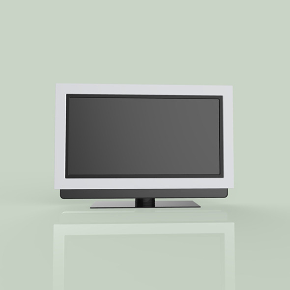 Small TV Modal - 3DOcean Item for Sale