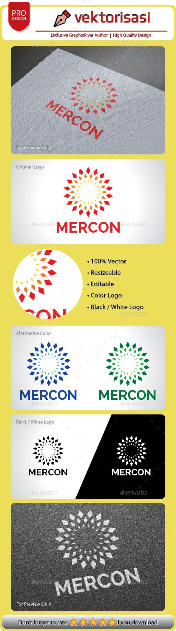 Mercon Logo - Vector Abstract